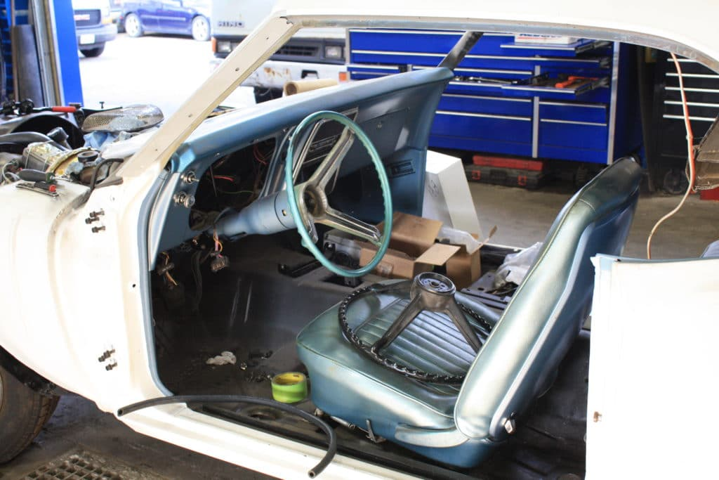 1967 Camaro interior build