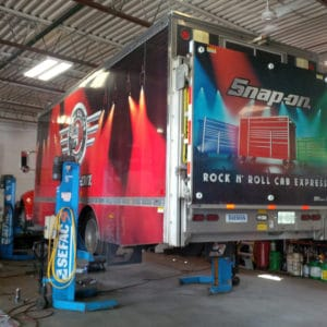Snap-on Rock N' Roll Cab Express Truck